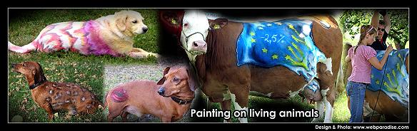 Animalpainting für Messestand