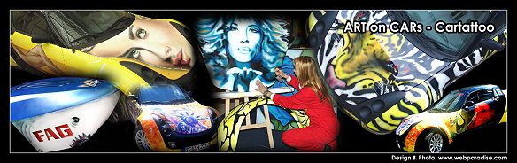 Custompainting auf Messestand